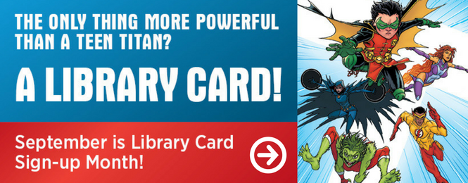 Library Card Sign Up Widget 1